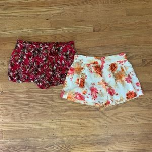 Urban Outfitters Set of Patterned Shorts